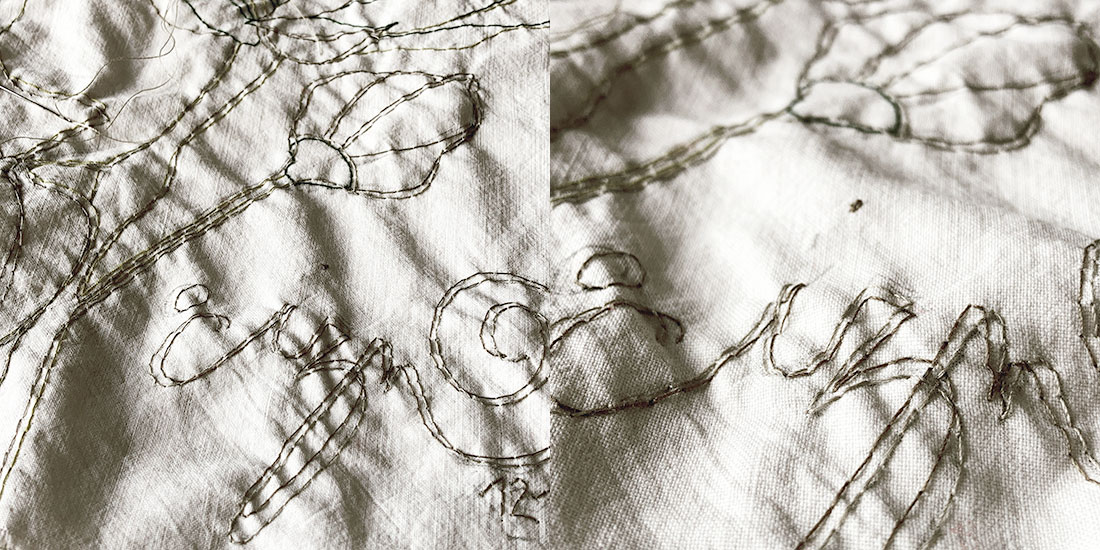 contemporary embroidery art italy